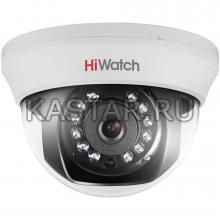 2Мп HD-TVI купольная камера для помещений HiWatch DS-T201 с ИК-подсветкой