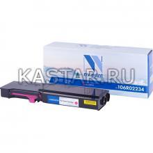Картридж NVP совместимый NV-106R02234 Magenta для Xerox Phaser 6600 | WorkCentre 6605 Пурпурный (Magenta) 6000стр.