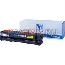 Картридж NVP совместимый NV-CF403A Magenta для HP Laser Jet Color Pro M252dw | M252n | M274n | M277dw | M277n7 Пурпурный (Magenta) 1400стр.