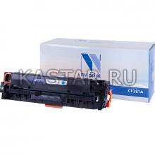 Картридж NVP совместимый NV-CF381A Cyan для HP LaserJet Color Pro M476dn   M476dw   M476nw Голубой (Cyan) 2700стр.