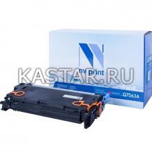 Картридж NVP совместимый NV-Q7563A для HP LaserJet Color 2700 | 3000 Пурпурный (Magenta) 3500стр.