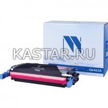 Картридж NVP совместимый NV-Q6463A Magenta для HP LaserJet Color 4730   MFP-4730x   4730xm   4730xs   CM4730   CM4730f   CM4730fm   CM4730fsk Пурпурный (Magenta) 12000стр.