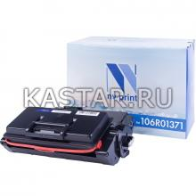 Картридж NVP совместимый NV-106R01371 для Xerox Phaser 3600 Черный (Black) 14000стр.