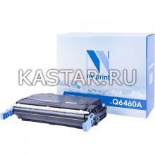 Картридж NVP совместимый NV-Q6460A Black для HP LaserJet Color 4730   MFP-4730x   4730xm   4730xs   CM4730   CM4730f   CM4730fm   CM4730fsk Черный (Black) 12000стр.