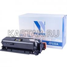 Картридж NVP совместимый NV-CF332A Yellow для HP LaserJet Color M651dn   M651n   M651xh Желтый (Yellow) 15000стр.