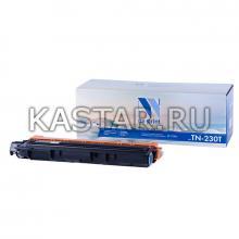 Картридж NVP совместимый NV-TN-230T Cyan для Brother HL-3040CN   3070CW   DCP-9010CN   MFC-9120CN   9320DW Голубой (Cyan) 1400стр.