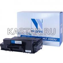 Картридж NVP совместимый NV-MLT-D203U для Samsung ProXpress M4020ND   M4070FR Черный (Black) 15000стр.