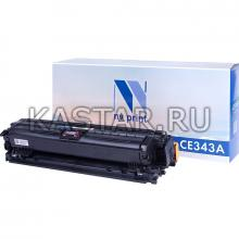 Картридж NVP совместимый NV-CE343A Magenta для HP LaserJet Color Enterprise 700 M775dn | M775f | M775z | M775z+ Пурпурный (Magenta) 16000стр.