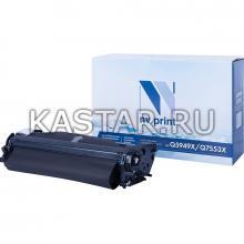 Картридж NVP совместимый NV-Q5949A для HP LaserJet 1160   1320tn   3390   3392 Черный (Black) 2500стр.