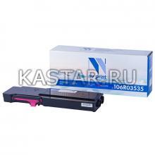 Картридж NVP совместимый NV-106R03535 Magenta для  Пурпурный (Magenta) 8000стр.