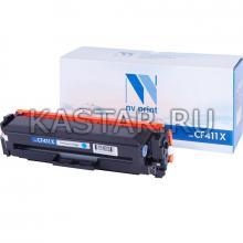 Картридж NVP совместимый NV-CF411X Cyan для HP LaserJet Color Pro M377dw   M452nw   M452dn   M477fdn   M477fdw   M477fnw Голубой (Cyan) 5000стр.