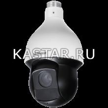 Уличная поворотная 4 Мп CVI-камера Dahua DH-SD59430I-HC-S2 с ИК-подсветкой 100 м