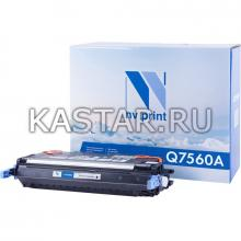 Картридж NVP совместимый NV-Q7560A для HP LaserJet Color 2700 | 3000 Черный (Black) 6500стр.
