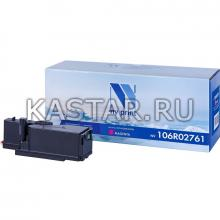 Картридж NVP совместимый NV-106R02761 Magenta для Xerox Phaser 6020   6022   WorkCentre 6025   6027 Пурпурный (Magenta) 1000стр.