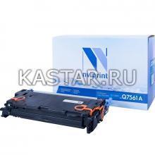 Картридж NVP совместимый NV-Q7561A для HP LaserJet Color 2700 | 3000 Голубой (Cyan) 3500стр.