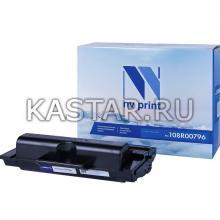 Картридж NVP совместимый NV-108R00796 для Xerox Phaser 3635 Черный (Black) 10000стр.